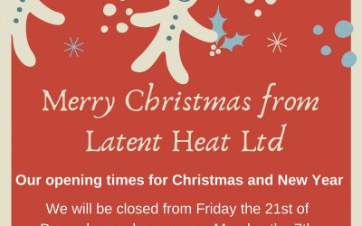Opening hours for Christmas and New Year 2018