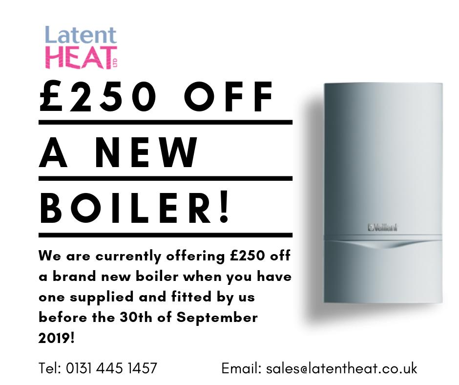 boiler offer